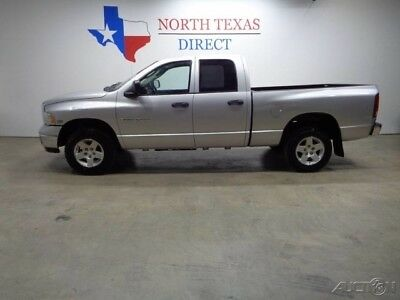 Dodge Ram 1500 SLT Quad 4WD 5.7L Hemi V8 Bed Liner Towing Package 2004 SLT Quad 4WD 5.7L Hemi V8 Bed Liner Towing Package Used 5.7L V8 16V