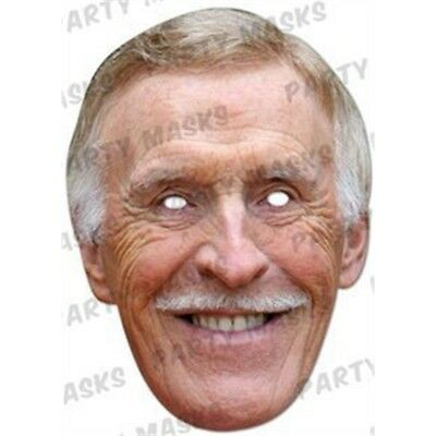 Bruce Forsyth Celebrity Face Card Mask, Mask-arade, Impersonation/fancy Dress