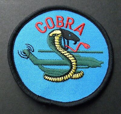 Bell Ah-1 Cobra Military Helicopter Embroidered Patch 3 Inches