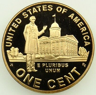 2009 S Proof Lincoln Professional Life Cent Penny (B03)