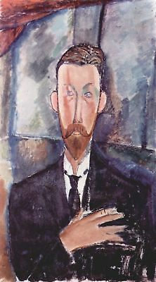 Handmade Oil Painting repro Amedeo Modigliani Portrait of Paul Alexander
