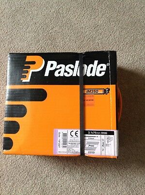 Paslode Im350 3.1 X75 Mm Galv Plus Ring Nails.