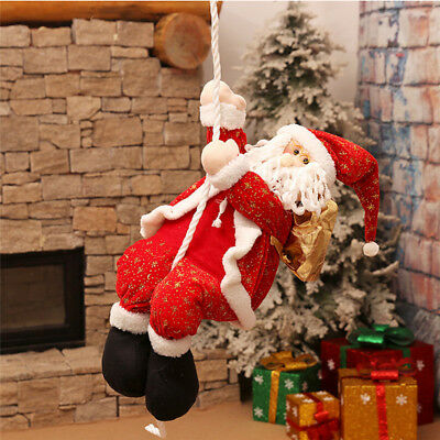 New Cute Snowman Santa Claus Christmas Ornaments Festival Party Xmas Decoration