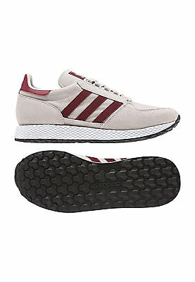 low cost 841cd 51270 Forest Bordeaux 145 94 Baskets Adidas B41547 Eur Grove Gris