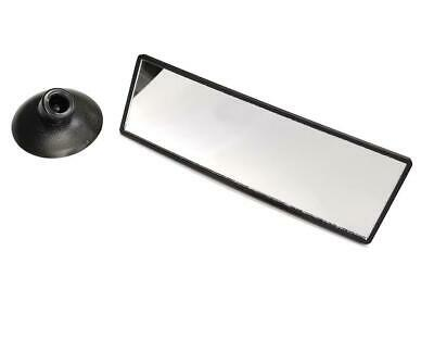 Mini Driving Instructor Interior Suction Rear View Convex Glass Mirror Quick Fit