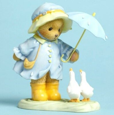 "Cherished Teddies ""rainbow Weather"" Darien Umbrella 4045934 New *  Free Shipping"