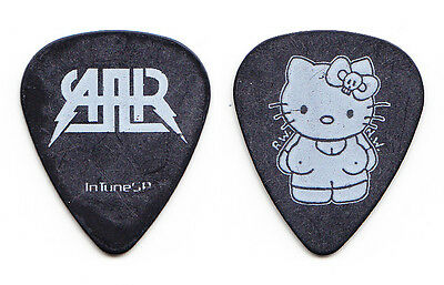 All American Rejects Hello Kitty Black/White Guitar Pick - 2009 Tour