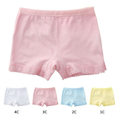 Little Kids Baby Girls Cotton Boyshorts Boxers Underwear Shorts Size 8-10 Years