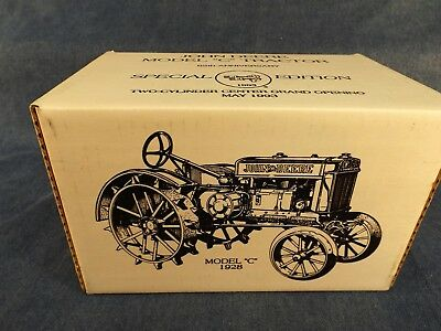 John Deere Model C Tractor - Two Cylinder Club - 1993 - 65Th Anniv - New In Box