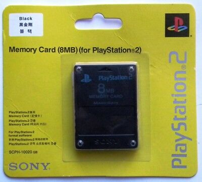 Memory Card 8 Mb Genuine Ps2 Playstation 2 New