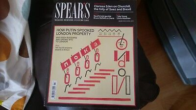 Spear's Wealth/Business/Culture/Life magazine March/April 2018