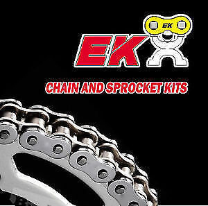 EK Heavy Duty Chain and Sprocket Kit - Honda CG125 F / J Brazil 1985 - 1991