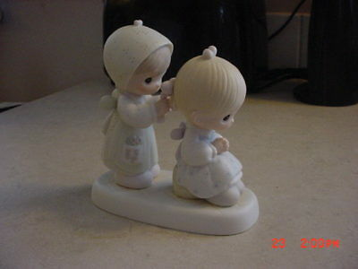 Precious Moments Figurine To A Very Special Sister Jonathan & David