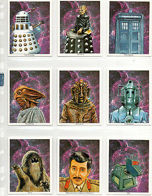 Doctor Who 30th Anniversary - 20-card Complete Set EXC CCC Ltd 1993