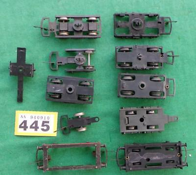 Y445 WORKSHOP CLEARANCE: Mainline, Lima, etc, bogies + wagon chassis 00 scale