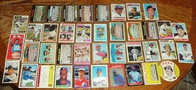 """Vintage Lot Of Old Sports Cards! """"Lower Grade"""" But Affordable And Present Well!"""