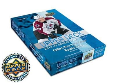 2016-17 Upper Deck Series Two Hobby Box Sealed
