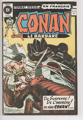 CONAN #44 french comic français EDITIONS HERITAGE
