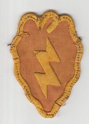 Theater Made WW 2 US Army 25th Infantry Division Patch Inv# S789