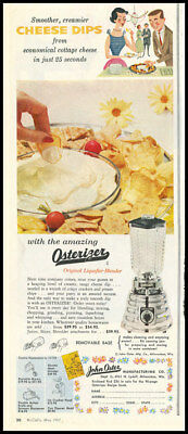 1957 vintage ad for Osterizer  -1104