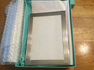 Tiffany Co Sterling Silver Picture Frame In Box Wow 15749
