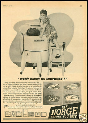1940s vintage ad for Manitowac Home Freezers