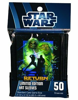 Star Wars Limited Edition 50 Art Card Sleeves Return of Jedi (A) Standard Size
