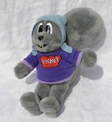 Rocky plush Rocket J Squirrel Mary Meyer Rocky & Bullwinkle & Friends Universal