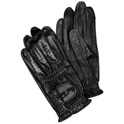 Mark Todd Leather Showing Competition Glove X Large Black - Gloves Riding Adult