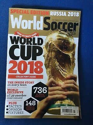 World Soccer Special Edition Collectors Issue Russia World Cup 2018
