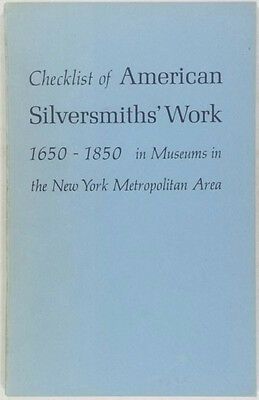 Antique American Silver in New York Museums -Brooklyn Museum, Metropolitan &c