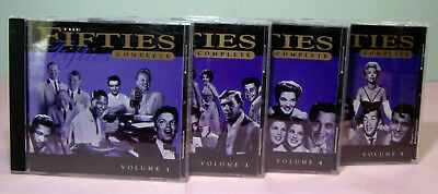 The FIFTIES Complete  - 4 CDs (NO Volume 2)   SirH70