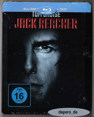 """JACK REACHER"" - Tom Cruise - Action - ltd BLU RAY STEELBOOK - neu/OVP - rar OOP"