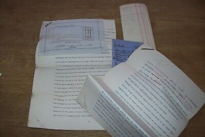 47. Four legal documents concerning Berrycombe Road , Bodmin , Cornwall 1908