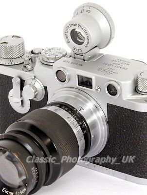 Leitz SGVOO 9cm Finder for LEICA 9cm / 90mm Lenses on Leica M4 M6 Leica IIIg M8