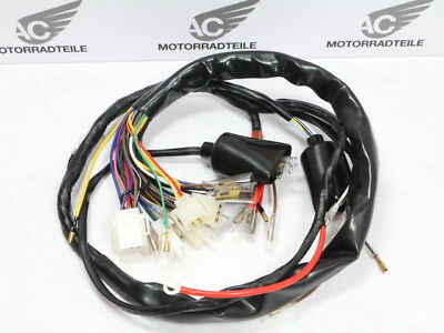 Yamaha  XT 500 G H I J K L 1980-1985 main wire wiring harness loom reproduction