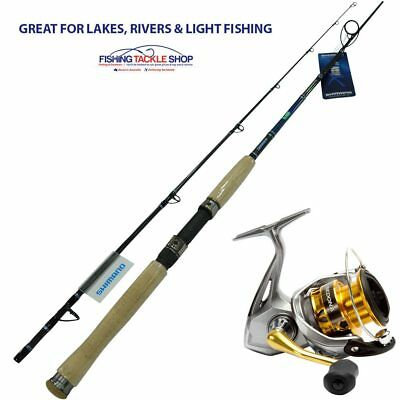Shimano Starlo Stix Classix 702M Fishing Rod With Shimano Sedona 2500 Reel