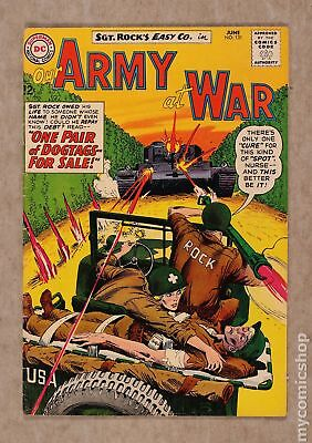Our Army at War #131 1963 VG 4.0