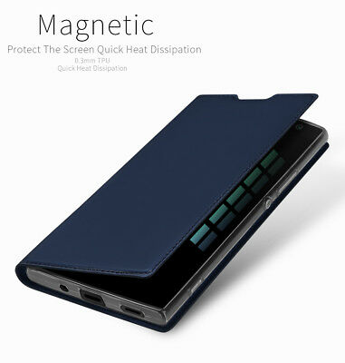 DD For Sony Xperia XA2 PU Leather Flip Case Wallet Magnetic Skin Stand Cover