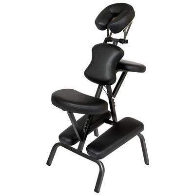 Oasis® Portable Massage Chair In Black With Trolley Case