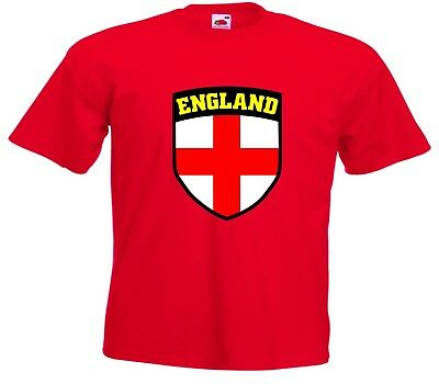 England FC Football World Cup Boys Girls Youth Kids Jersey T-Shirt - All Sizes
