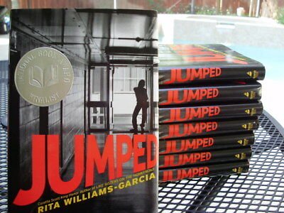 8 JUMPED Hardcover books class set Guided Reading lot AR Rita Williams-Garcia