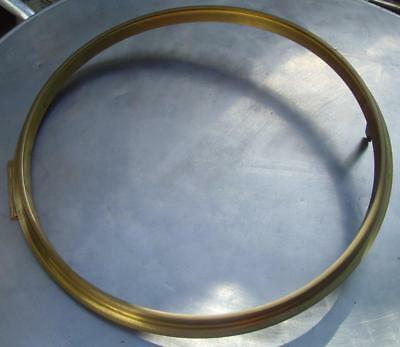 27/2 replacement   14 inch bezel for wall clock with sight ring, hinge and catch