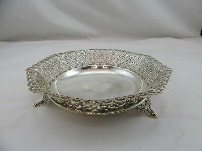 Sterling Silver 925 Fruit Bowl Candy Dish Used