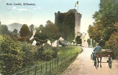 Ross Castle, Killarney.1930's Postcard Posted.SEE SCANS
