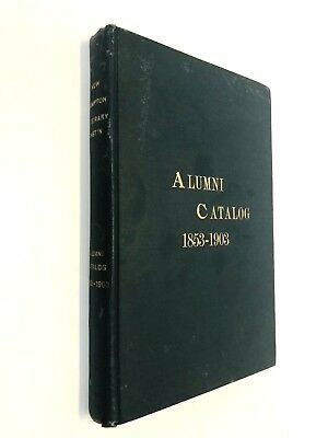 New Hampton NH Literary and Biblical Institution 1853-1903 History, Officers