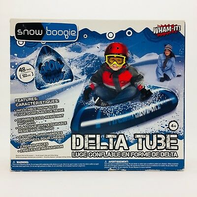 "Wham It Snow Boogie Delta Tube 48"" Inflatable Snow Sled PVC Vinyl by Wham O NEW"