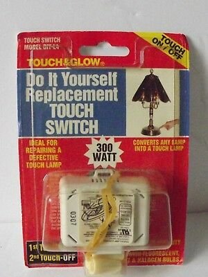 Touch & Glow  #DIY-L4 Do It Yourself Replacement Touch Switch Lamp Repair