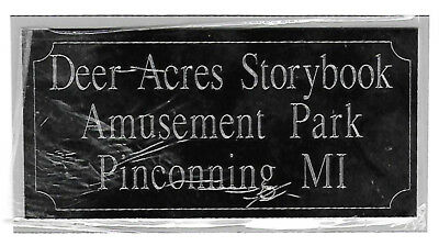"Custom Engraved Plate Aluminum 2""x4"" Custom Name Plate Plaque engraving"