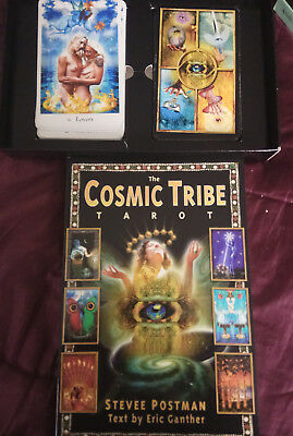 THE COSMIC TRIBE TAROT BOXSET - by Stevee Postman (3 lovers cards for relationsh
